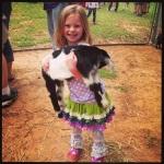 Savannah & baby goat